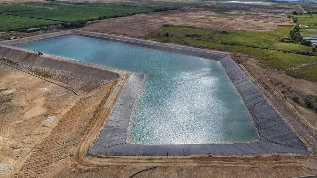 Impermeabilización balsas de agua